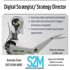 Job Posting, World's Biggest, Ecommerce, Melbourne, Opportunity, Innovation, Positivity, Technology, Digital