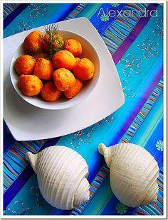 Κασεροκροκέτες-cheese balls