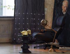 Beleuchtete Vorhänge von création baumann *  Wohnideen * ausgefallene Beleuchtung * Inspirationen für Zuhause