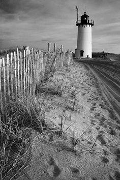 Race Point Lighthouse, Cape Cod, 2008 by Christopher Wisker - Northeastern Travels, via Flickr - Picmia