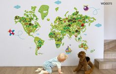 MAKE GEOGRAPHY FUN FOR KIDS WITH THESE 10 UNIQUE MAPS