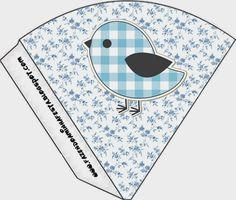 Blue Bird: Free Party Printables.