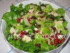 Greek Recipes, Diet Recipes, Pasta Salad Recipes, Salad Bar, Guacamole, Cabbage, Food And Drink, Appetizers, Vegetables