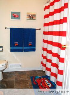 disney cars bathroom