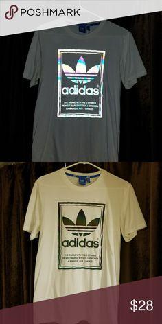 Adidas Hologram Tee Adidas tee. Only worn once. EUC adidas Shirts Tees - Short Sleeve