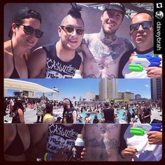 Apple family reunion in Vegas. Great hangin w my boys at the Punk Rock Bowling pool party. #applefam #friendship #punkrockbowling #poolparty #peoplewatching #whereami #lasvegas #dtlv #myboys #chillin #rock #party #adventure #whynot #whathappensinvegas #latergram by katieb94 http://bit.ly/AdventureAustralia