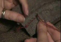 Basic Hand Sewing Skills - Running Stitch, Whip Stitch, Seam Finishing (Video Tutorial)