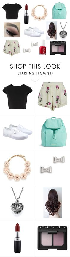 """""""(Insert witty comment here)"""" by rojoubdalia on Polyvore featuring Alice + Olivia, MINKPINK, Vans, Vera Bradley, J.Crew, Marc by Marc Jacobs, MAC Cosmetics, NARS Cosmetics, Essie and women's clothing"""