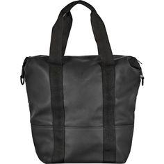 Rains City Bag ($137) ❤ liked on Polyvore featuring bags, handbags, laptop bags, strap purse, zipper handbag, zip purse and laptop purse