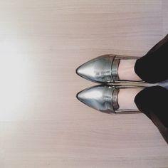 Sapato prata Renner @phdemseilaoque