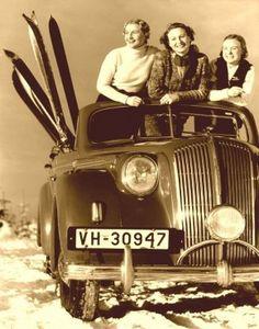 Items similar to Ski Bunnies collage on Etsy Ski Vintage, Vintage Ski Posters, Vintage Winter, Vintage Sport, Vintage Ephemera, Vintage Cars, Winter Fun, Winter Sports, Winter Wear