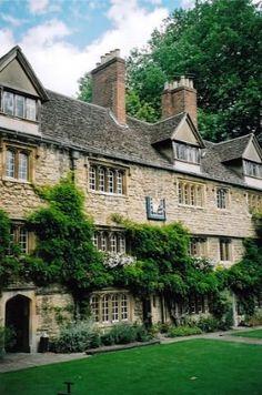 St. Edmund Hall at Oxford, UK