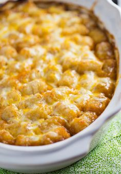 This Mexican Tater Tot Casserole was a hit with my family! It was spicy, hearty and tasty. Comfort food for the win.