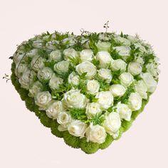 hart groen wit