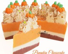 Soap Cake Slice Cake soap piped Cake Soap by NicoleRoyalCreations
