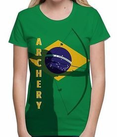 #Archery brazil flag #summer of sport olympics #tournament world womens t shirt,  View more on the LINK: http://www.zeppy.io/product/gb/2/282082502247/