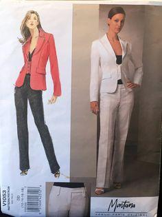 Vogue Paris Original Claude Montana Fitted Jacket w/ by wrapsETC