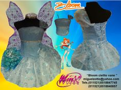 5fd4f4ce50d10 Bloom Winx Club Fairy pixie butterfly handmade for childs toddler adult  girl blue sky presentation 3