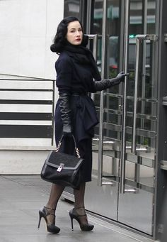 Dita - I adore her outfit.