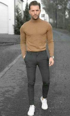 33 perfect minimalist outfit for men man fashion mens fashio Stylish Men, Men Casual, Casual Wear, Mode Outfits, Fashion Outfits, Fashion Styles, Style Fashion, Fashion Trends, Minimalist Outfit