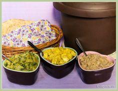 A Vegan, Slow-Cooked Tandoori Feast Vegan Indian Recipes, Delicious Vegan Recipes, Ethnic Recipes, Vegan Slow Cooker, Salad Bowls, Vegan Food, Middle East, Delish, Salads