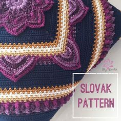 "Slovak Translation  . Wonderful Lucia Stepankova, @luciastepankova , have made this translation of the In Bloom CAL and I'm very happy to add it to the ""collection"" on my blog. Thank you Lucia for your work with this  . The In Bloom CAL pattern is a free pattern on my blog (link in profile) that is available in Swedish, English (US), Danish, Finish, Dutch, German and now Slovak. Also @itsallinanutshell made videotutorials available on her blog  . The colour pack used for this cushion ..."