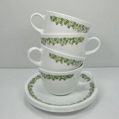 Corelle...these are in my kitchen...from my aunt's kitchen back in the 70's