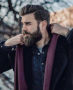 40 Different Men's Facial Hair Styles - Buzz 2018 Modern Beard Styles, Beard Styles For Men, Hair And Beard Styles, Hair Styles, Latest Haircuts, Best Short Haircuts, Haircuts For Men, Men's Haircuts, Mens Facial