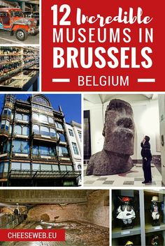 Continuing our series of things to do in Brussels, we share our 12 favourite museums in Belgium's capital city.