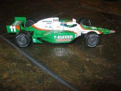 RARE Hot Wheels Indycar 7-ELEVEN SLURPEE Honda Izod 1:24 SCALE Great Condition #HotWheels #HondaIzod