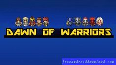 Dawn_of_Warriors_v1.2.1_Mod_Apk_(Mod_Resources) Clash Of Clans, Warriors, Dawn, Crushes, Hacks, Candy, Sweets, Candy Bars, Military History