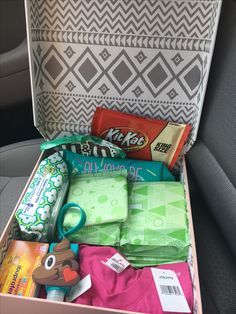 First period gift box