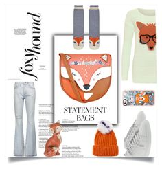 """Foxy lady"" by im-karla-with-a-k ❤ liked on Polyvore featuring Monsoon, Current/Elliott, WearAll, Yves Saint Laurent, Accessorize, Casetify and Eugenia Kim"