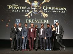 The cast and crew posed for a group photo. (L-R) Producer