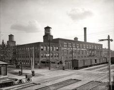 Cadillac Motor Car Co. 1908...Detroit, MI.  This where my dad made a living for our family.