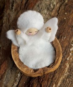 This have got to be the cutest thing on pinterest. A tiny baby angel. I now have a new number one on my to-craft list!