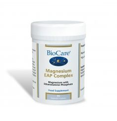 Magnesium EAP Complex provides 300mg of elemental magnesium combined with EAP which provides a highly absorbable and well tolerated magnesium supplement. Magnesium contributes to normal energy metabolism and the reduction of tiredness and fatigue.