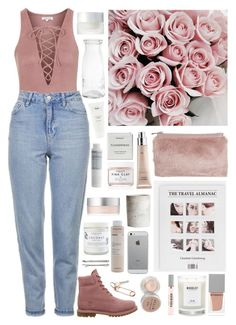 """""""Geen titel #494"""" by s-ensible ❤ liked on Polyvore featuring Topshop, CB2, Timberland, Miss Selfridge, Byredo, Ouai, Herbivore, Givenchy, Woodlot and Korres"""