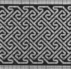 Learn the Tunisian Crochet Smock Stitch - Crochet Ideas Bag Crochet, Tunisian Crochet, Crochet Chart, Filet Crochet, Crochet Motif, Tapestry Crochet Patterns, Mosaic Patterns, Cross Stitch Borders, Cross Stitch Patterns