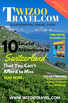 10 Tourist Attractions in Switzerland That You Can't Afford to Miss Out Holiday Packing Lists, Family Holiday Destinations, Vacation Destinations, Switzerland Tourist Attractions, City Break Holidays, Budget Travel, Travel Tips, City Breaks Europe, Family Adventure