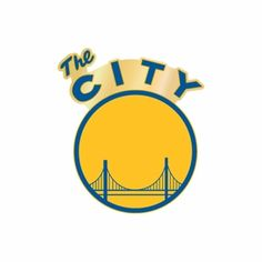 """Golden State Warriors """"The City"""" Pin 