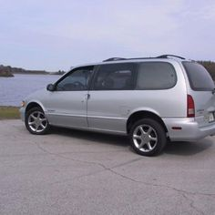 1997 Nissan Quest - 2 kids later, moved to a Van in Suburbia USA.  Ours was white with black trim.