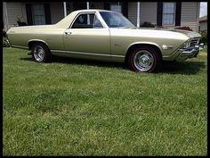 1968 Chevrolet El Camino.  Find parts for this classic beauty at restorationpartssource.com.