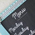 Dica de organização: Cardápios semanais