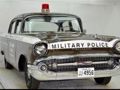 1957 Chevrolet U.S. Army Military Police.