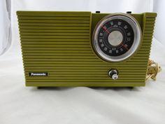 Vintage Panasonic Radio.