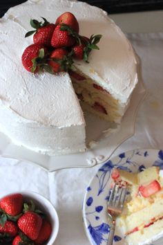 Strawberry Custard Cassata Cake (Cleveland)