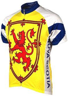 Adrenaline Promotions Canadian Provinces Nova Scotia Cycling Jersey Multi  Large -- Read more reviews of 88ec135d4