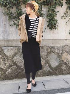 2018SS新作【消臭効果】ストレッチポンチAラインスカート Aラインが大人可愛いストレッチスカー