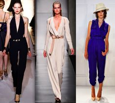 You can dress it up or down. The many styles and cuts can flatter any body type whether you're big or small busted on top. A cinched waist draws you in, whereas the drop of the leg area can make your legs appear longer and leaner. Jumpsuits can be a great outfit choice for any occasion. A night out or even something slightly more professional calls for one of these. You can dress it up by wearing a fitted blazer, chunky necklace and some wedges or heels.